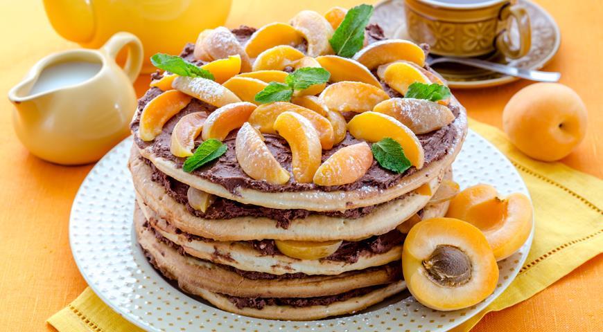Рецепт Торт с абрикосами