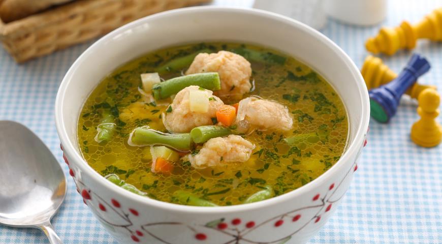 куриная суп рецепт детский