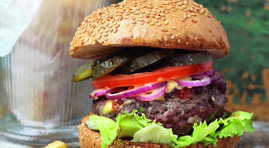 Рецепт Бургер из двух видов говядины
