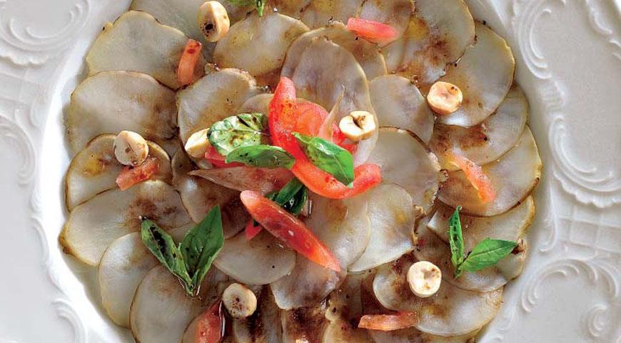 Рецепт «Карпаччо» из топинамбура