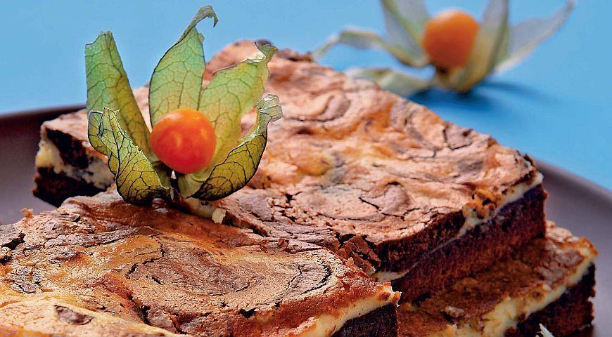 Рецепт Шоколадный мраморный пирог