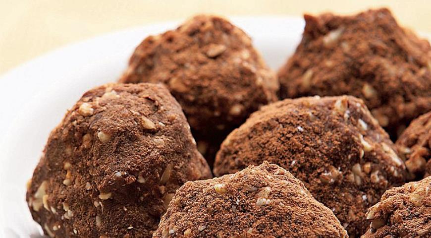 Рецепт Пирожное Картошка с орехами