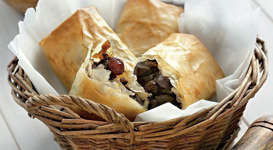 Рецепт Пирожки пастилла с бараньими почками и зирой