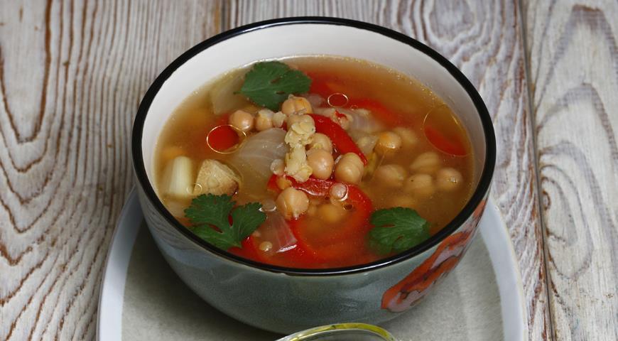 Рецепт Суп из бобовых с овощами