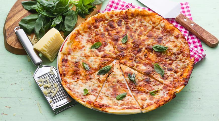 Рецепты пиццы на кефире в домашних условиях с фото пошагово