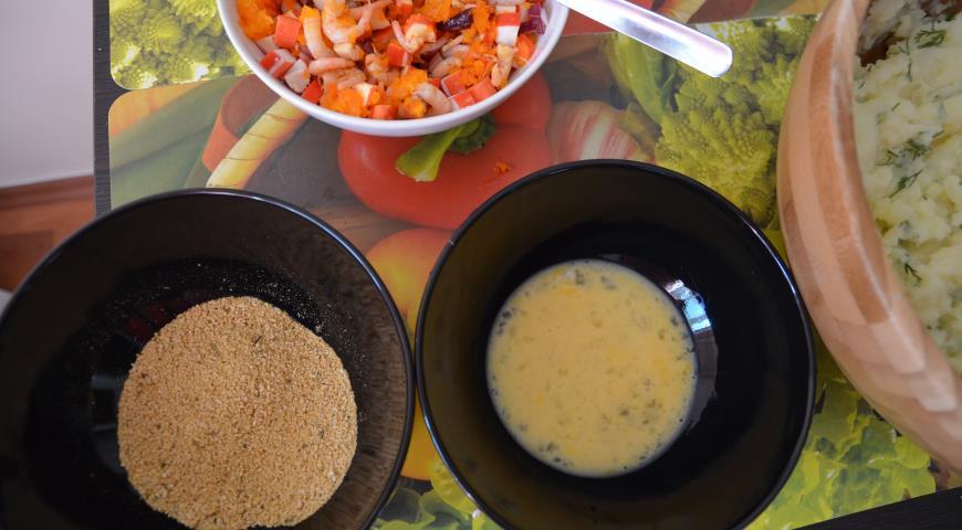 Рецепт с очищенными креветками рецепт