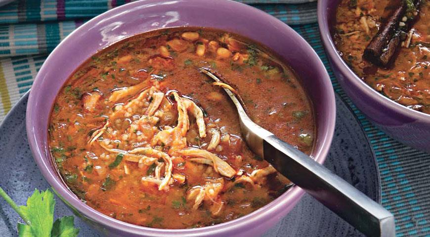 Рецепт Суп из цыпленка с кускусом