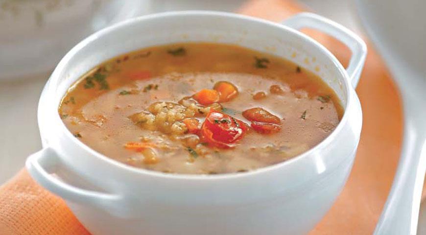 Рецепт Суп с киноа и помидорами