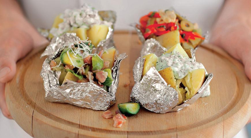 Рецепт Печеная картошка