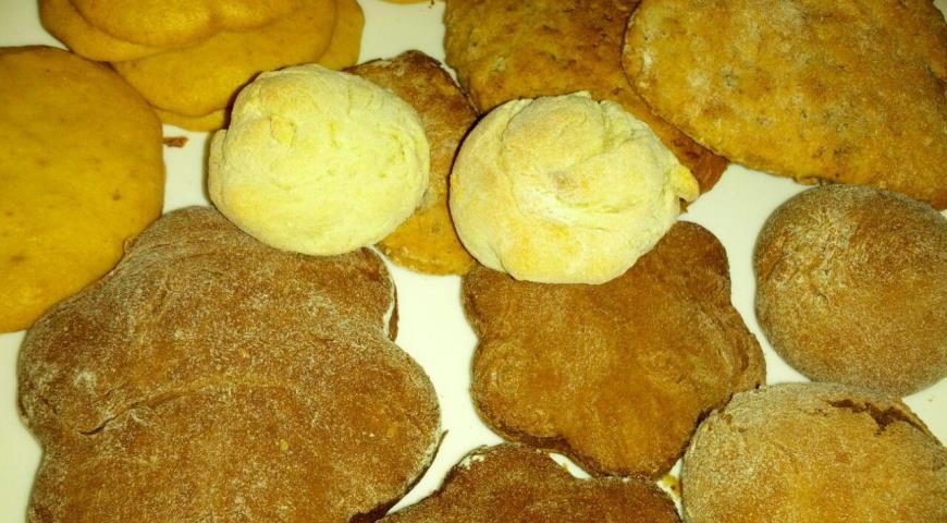 Рецепт Постное печенье с лимоном