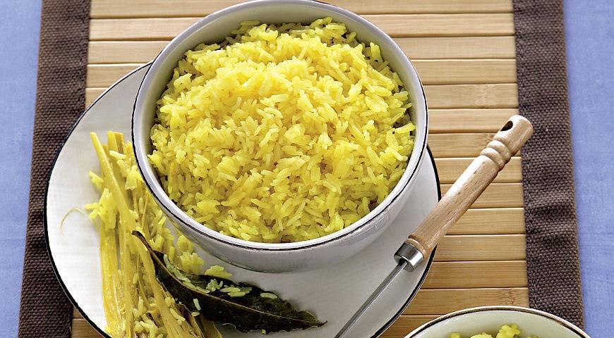 Рецепт Кокосовый рис с лимонным сорго