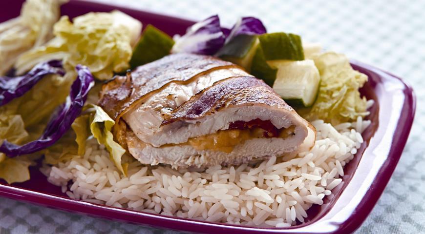 Рецепт Куриное филе в беконе