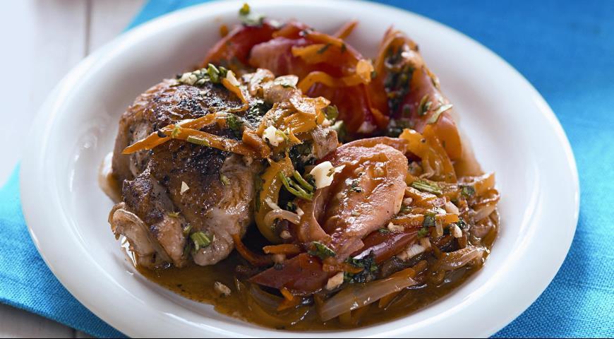 Рецепт Жаркое из курицы по-хорватски