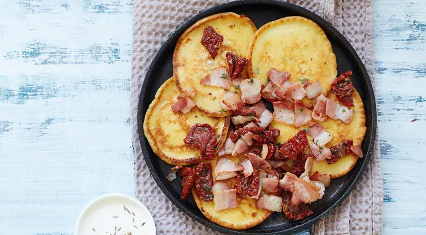 Рецепт Картофельные оладьи