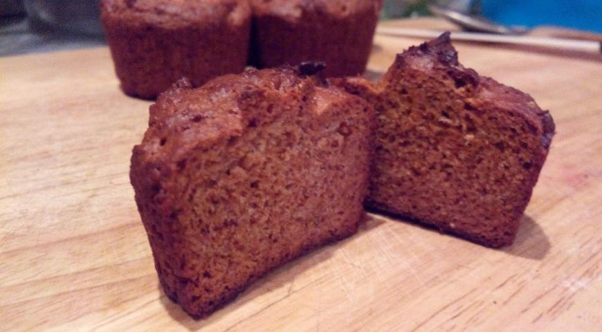 Маффины с арахисовой пастой без муки - кулинарный пошаговый рецепт с фото на KitchenMag.ru