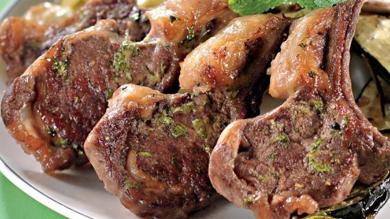 Корейка баранины рецепт с фото