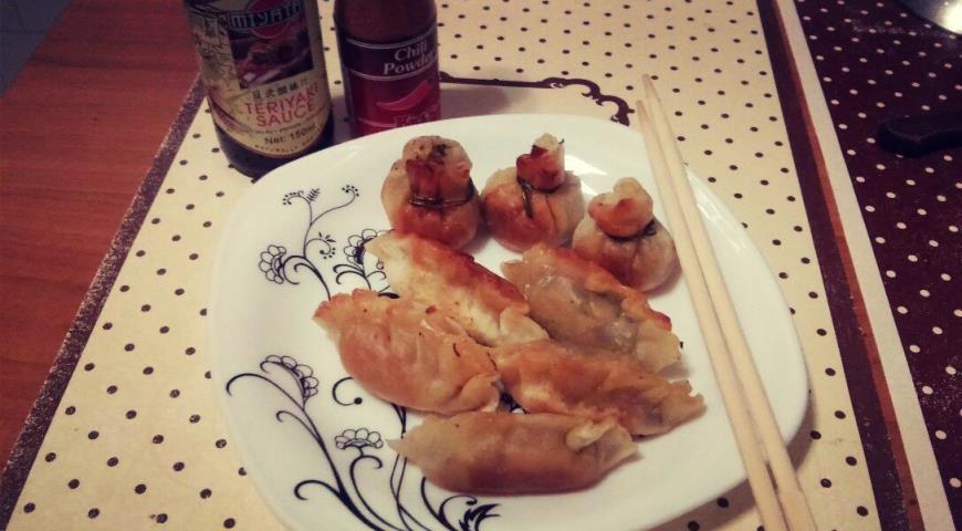 Рецепт Китайские вонтоны с овощами