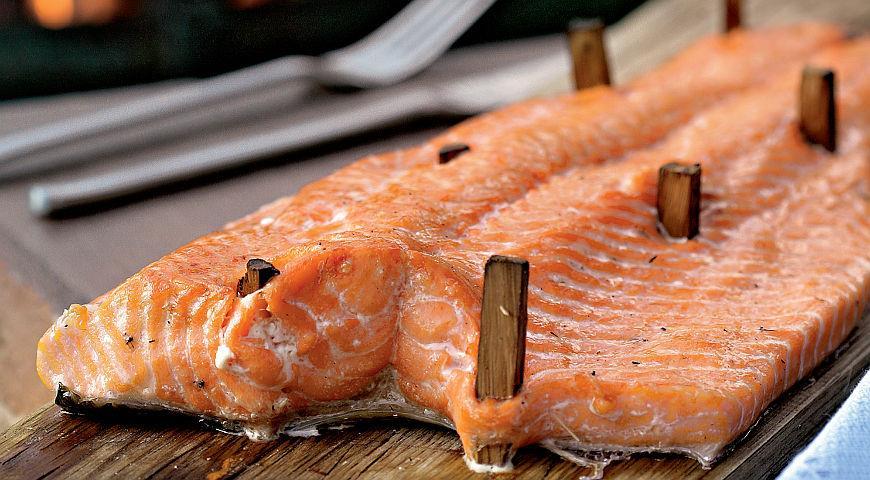 Рецепт Копченая рыба в смеси специй бахарат