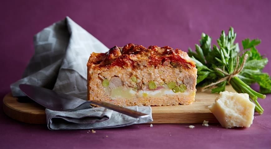 Рецепт Неаполитанский рисовый пирог сарту