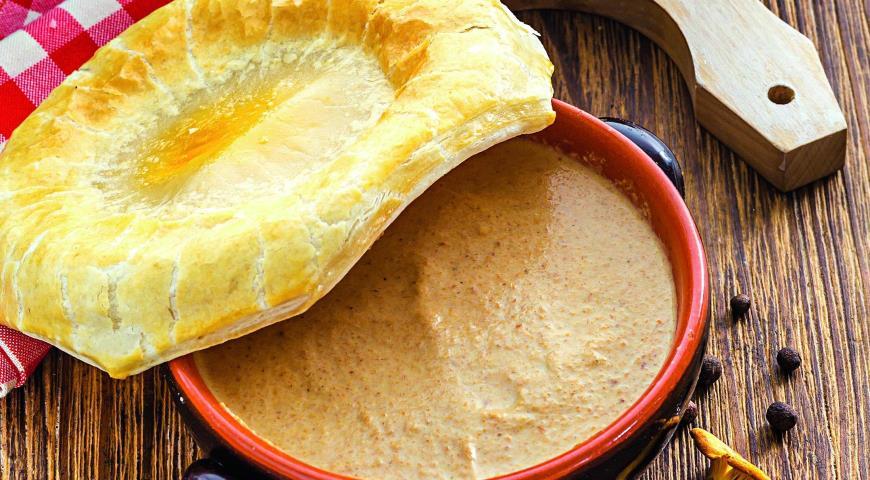 Рецепт Праздничный суп из лисичек