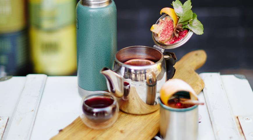 Рецепт Tea Punch от Дениса Кряжева