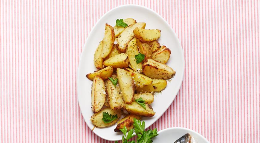 Рецепт Пряный запеченный картофель