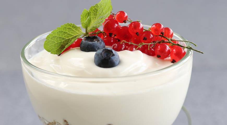 Рецепт Домашний йогурт в мультиварке