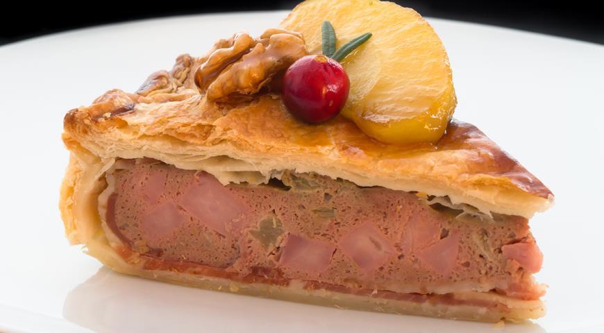 Рецепт Французский мясной пирог