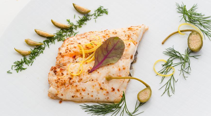 Рецепт Запеченное рыбное филе