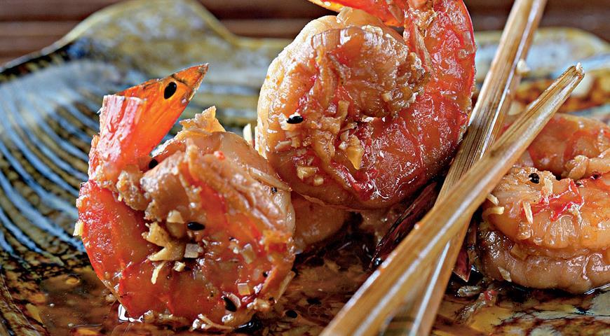 Рецепт Маринованные креветки по-китайски