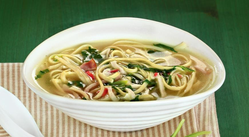 Рецепт Суп с лапшой