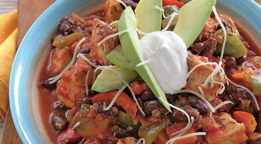 Рецепт Чили из индейки
