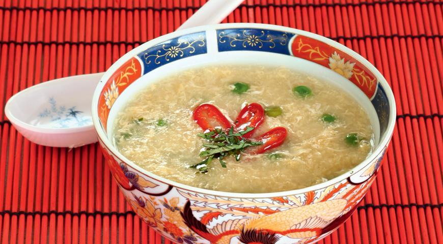 Рецепт Яичный суп