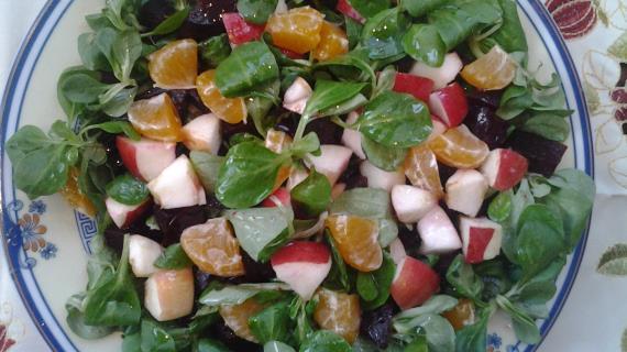 Рецепт салатов со свеклой с фото простые