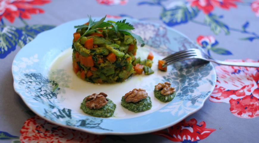 Рецепт Овощной тимбаль