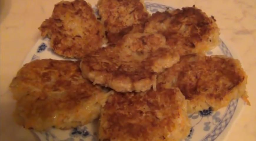 Рецепт Котлетки из геркулеса