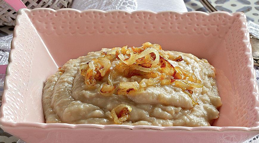 Рецепт Пюре из белой фасоли по-румынски