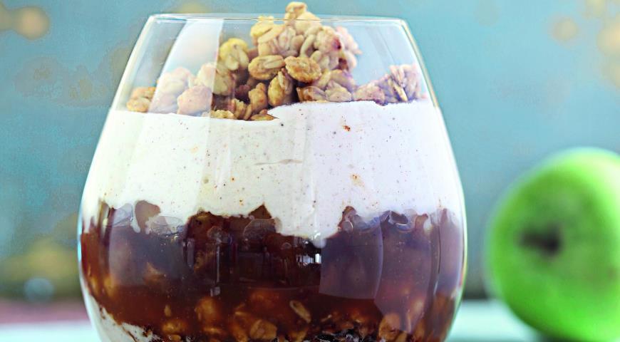 Рецепт Слоеный яблочный десерт