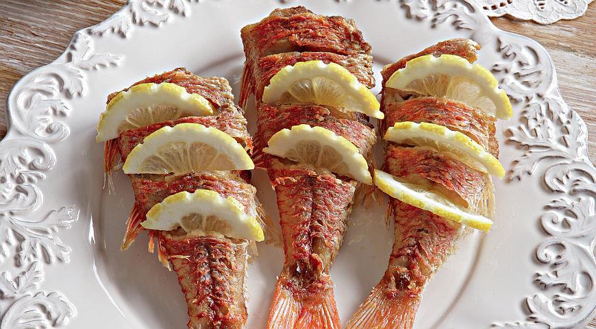 Жареная рыба, пошаговый рецепт с фото