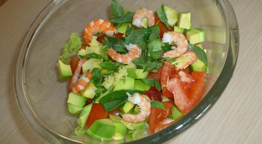 Рецепт салату з редиски