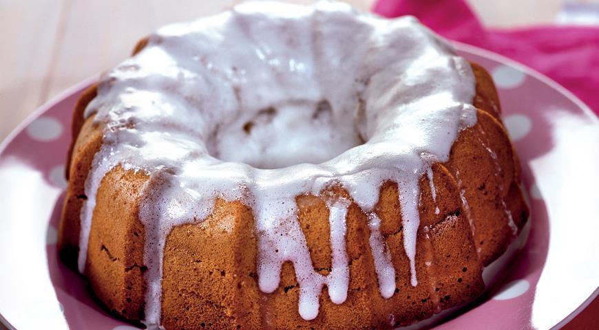 Рецепт Имбирно-карамельный кекс