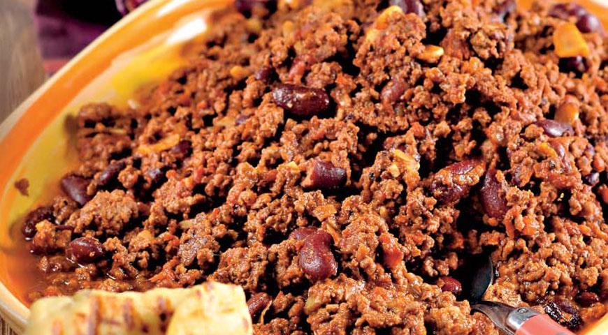Рецепт Чили кон карне из лосятины