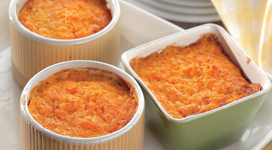 Рецепт Морковный флан