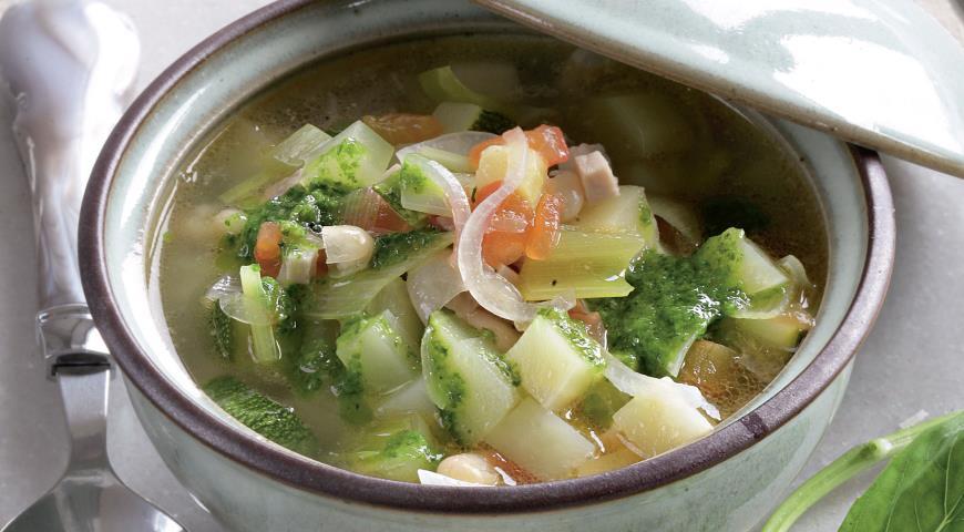 Рецепт Суп с соусом писту
