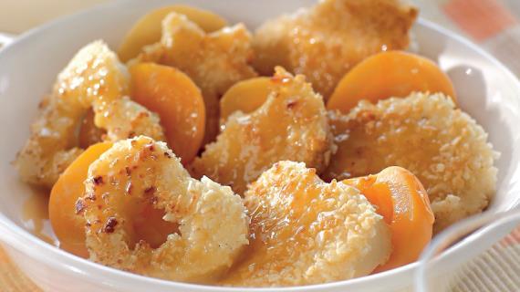 Манные фигурки с абрикосами