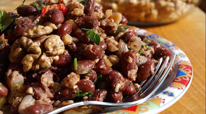 Лобио рецепт с мясом