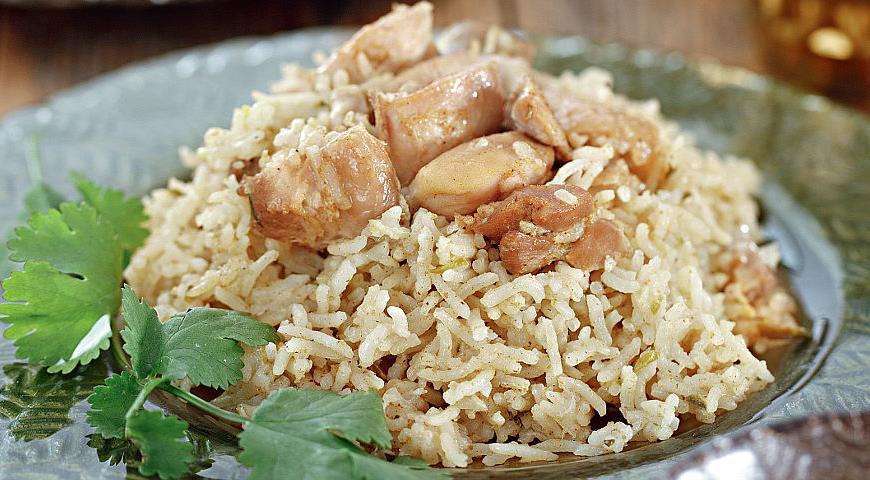Бириани из курицы с рисом, пошаговый рецепт с фото
