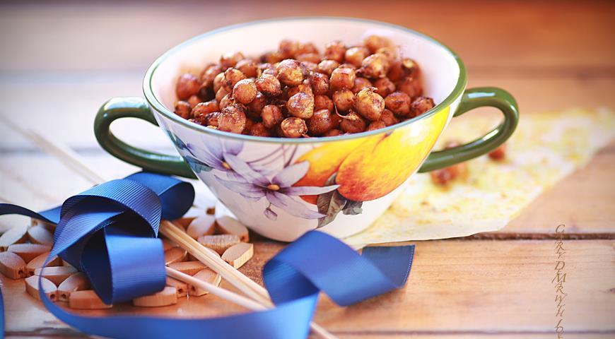 Рецепт Ароматные и невероятно полезные орешки из пророщенного нута