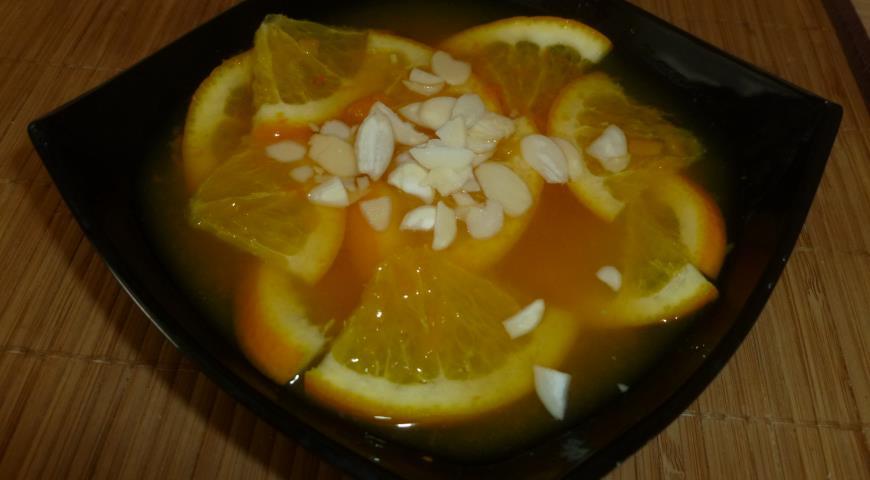 Рецепт Холодный суп с апельсином и тыквой