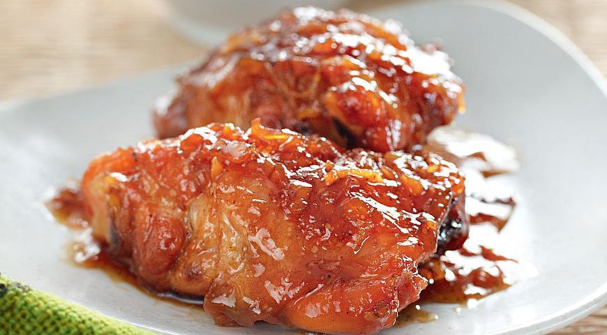 Жареный цыпленок с имбирем, пошаговый рецепт с фото